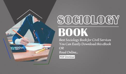 Sociology Book in Hindi