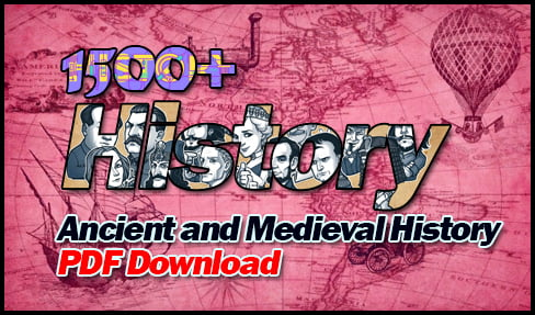 Ancient and Medieval History
