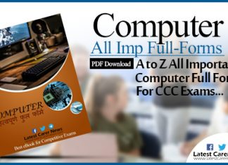 Computer Full Form List