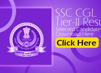 SSC CGL Tier-II Result 2021