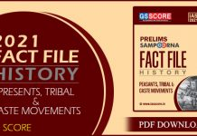 History Fact File by GS Score PDF