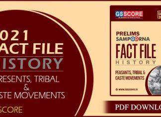 History Fact File by GS Score PDF