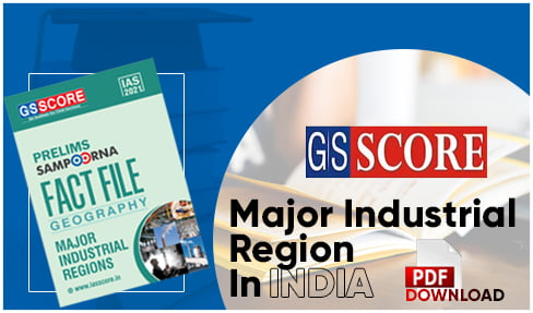 Major Industrial Region In India PDF
