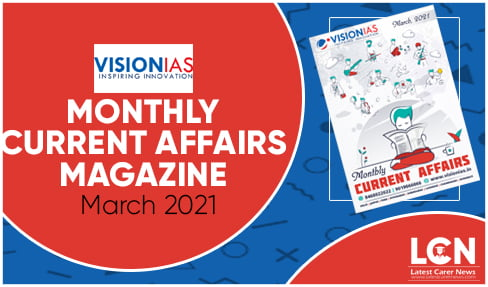 Monthly Current Affairs Magazine March 2021
