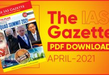 The IAS Gazette April 2021