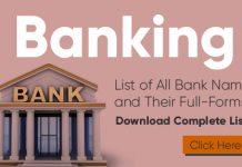All Bank Name