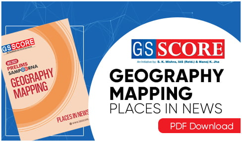 Geography Mapping Places in News 2021