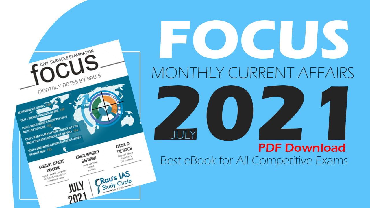 Focus Magazine July 2021