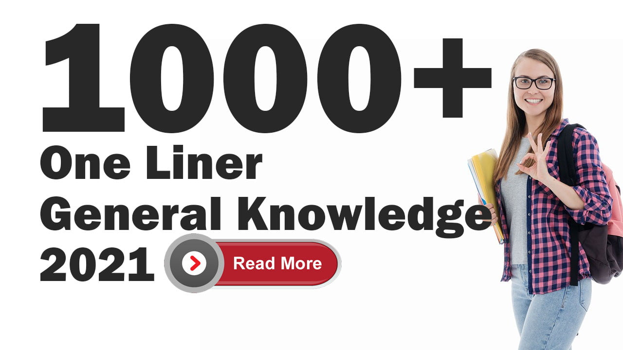 General Knowledge 2021 PDF