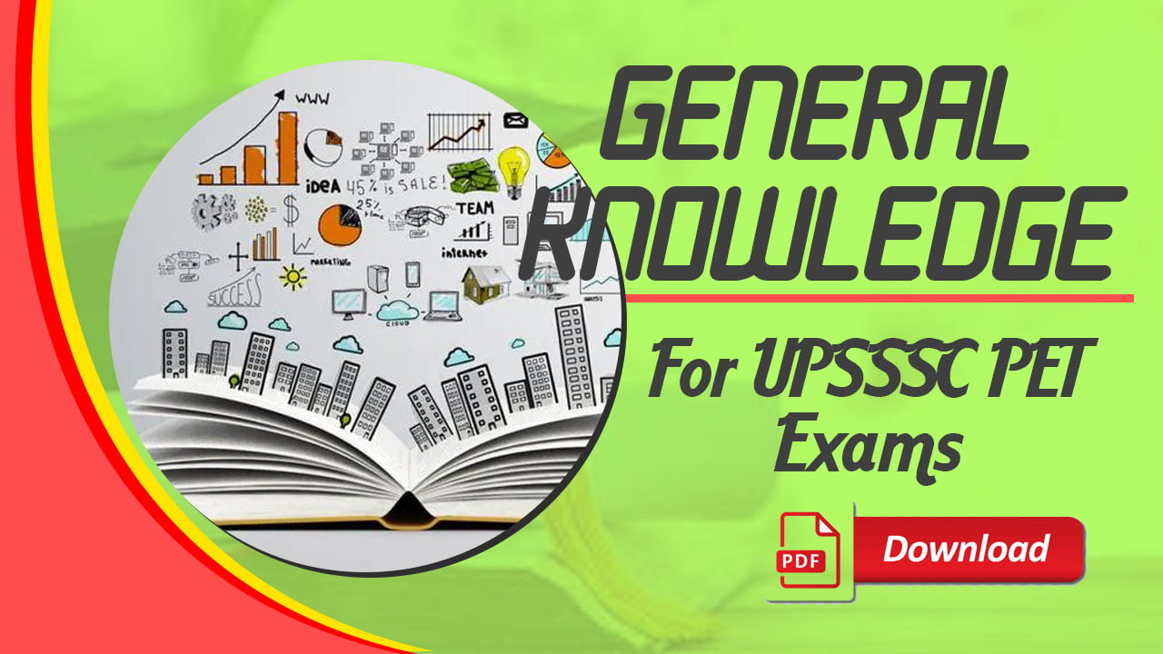 General Knowledge for UPSSSC PET
