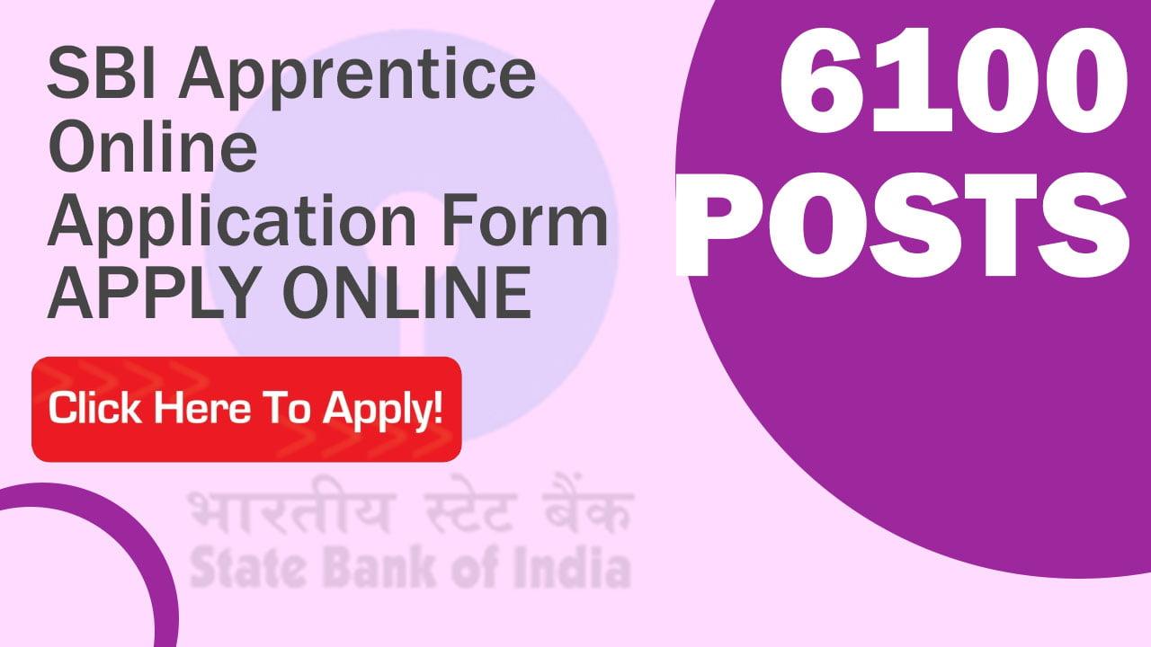 SBI Apprentice Application Form 2021