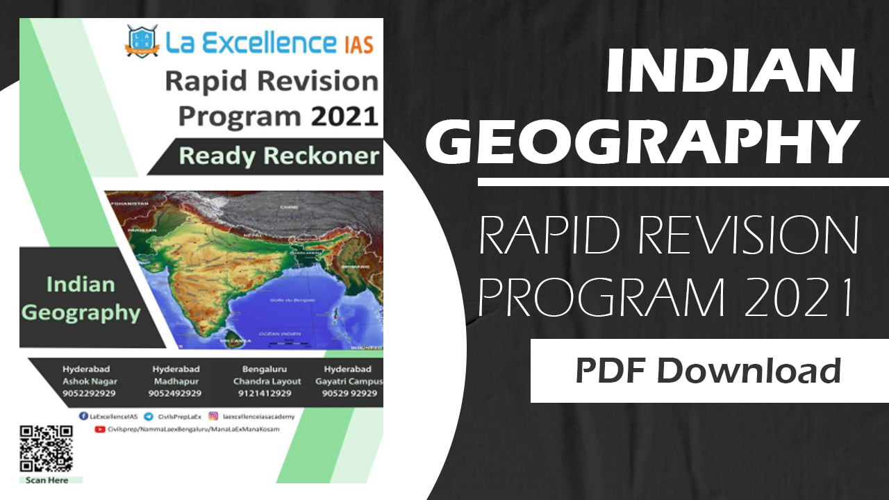 Indian Geography 2021 PDF